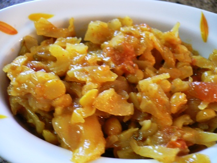 Chana Cabbage