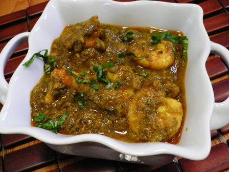 Gongura Shrimp Curry